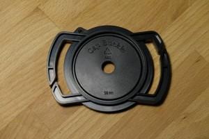 держатель для крышки объективов сторона 58 мм
