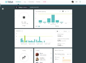 Веб приложение Fitbit Aria