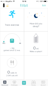 Приложение Fitbit Ios